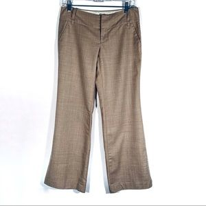 BANANA REPUBLIC TAN BEIGE WOOL DRESS PANTS